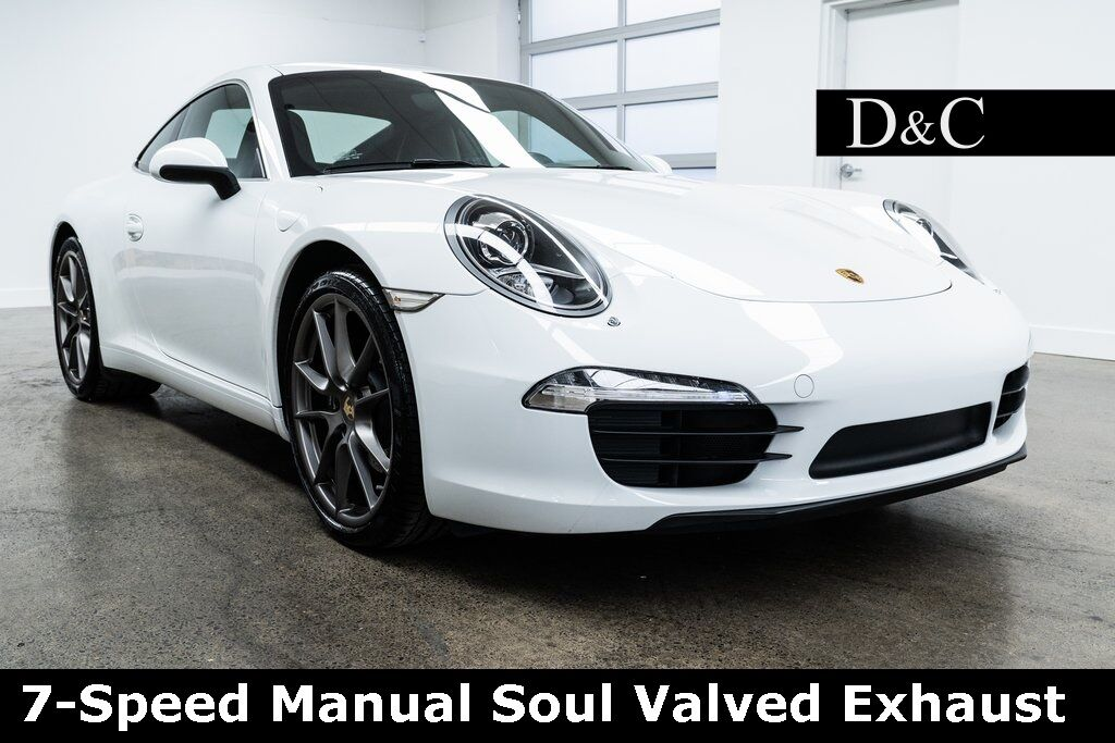 2013 Porsche 911 7-Speed Manual Soul Valved Exhaust Portland OR