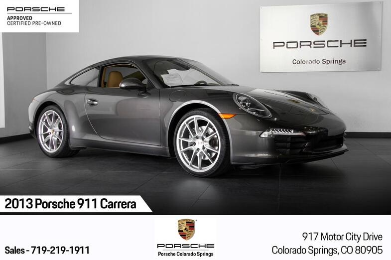 2013 Porsche 911 911 Carrera Colorado Springs CO