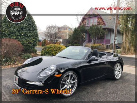 2013_Porsche_911_Carrera Cabriolet_ Arlington VA