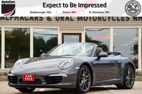 2013 Porsche 911 Carrera Cabriolet PDK Boxborough MA