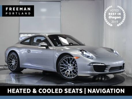 2013_Porsche_911_Carrera Heated & Cooled Seats Navigation_ Portland OR