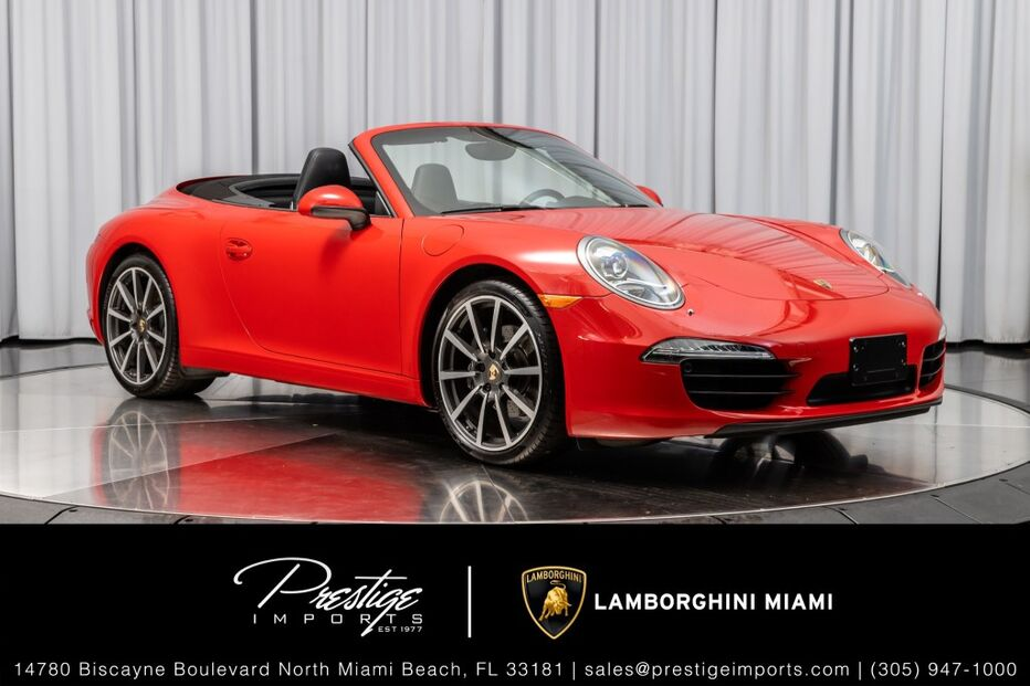 2013_Porsche_911_Carrera_ North Miami Beach FL