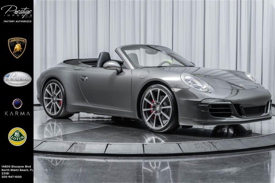 2013_Porsche_911_Carrera S_ North Miami FL