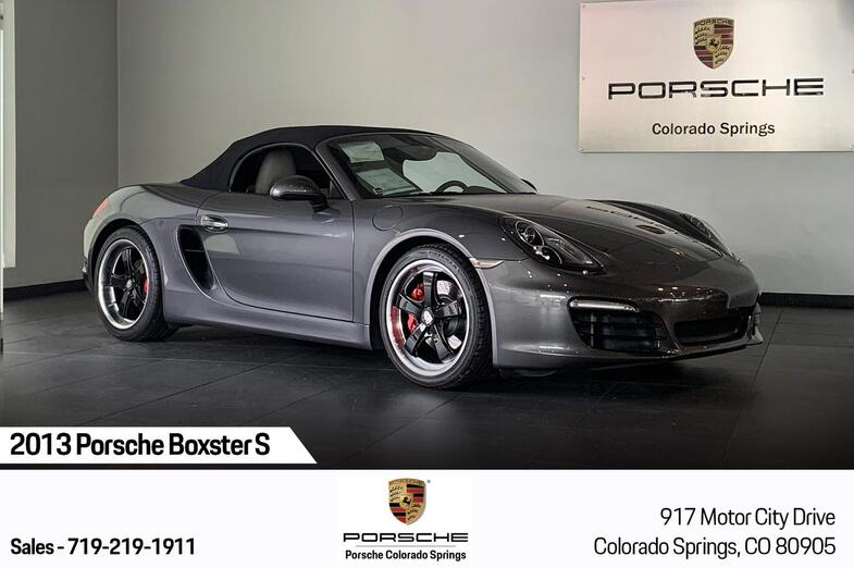 2013 Porsche Boxster Boxster S Colorado Springs CO