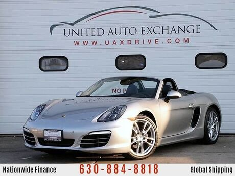 2013 Porsche Boxster Convertible PDK Auto With navigation and xenon Lights Addison IL