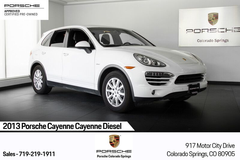 2013 Porsche Cayenne Cayenne Diesel Colorado Springs CO