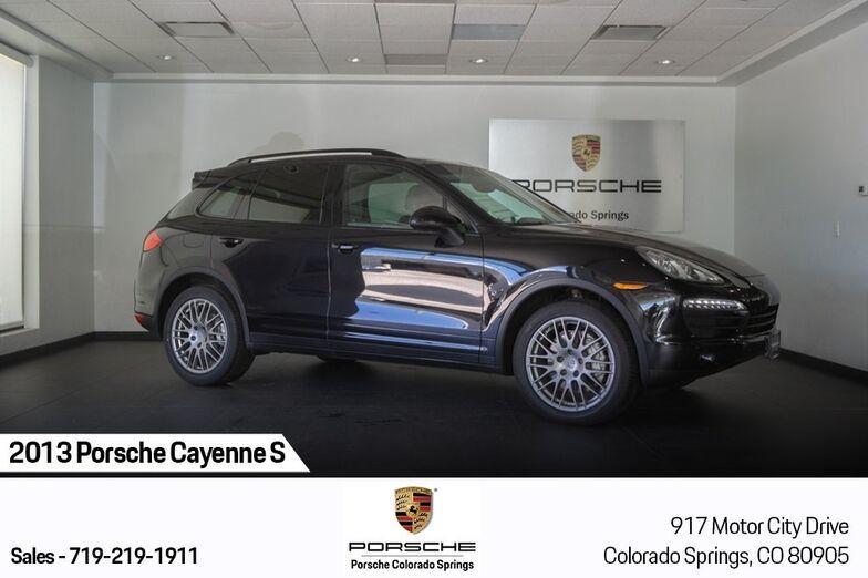 2013 Porsche Cayenne S Colorado Springs CO