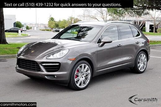 2013 Porsche Cayenne Turbo AWD, $15,000 in Options & Features! Must See! Fremont CA