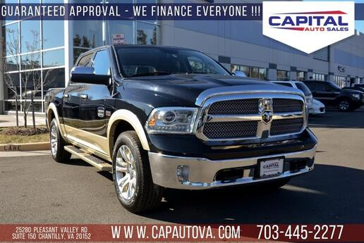 2013 RAM 1500 Laramie Longhorn Edition Chantilly VA