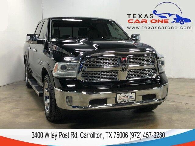 2013 Ram 1500 LARAMIE CREW CAB 5.7L HEMI NAVIGATION SUNROOF LEATHER REAR CAMERA KEYLESS START Carrollton TX