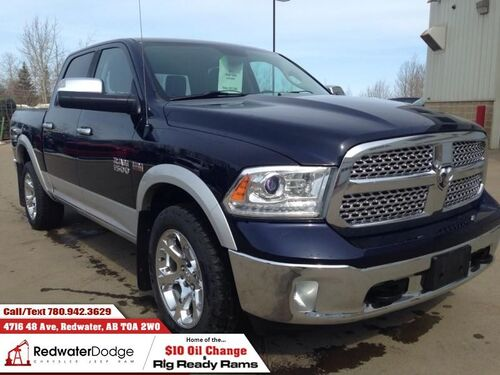 2013_Ram_1500_Laramie  Heated and Cooled Seats - Sunroof - NAV_ Redwater AB