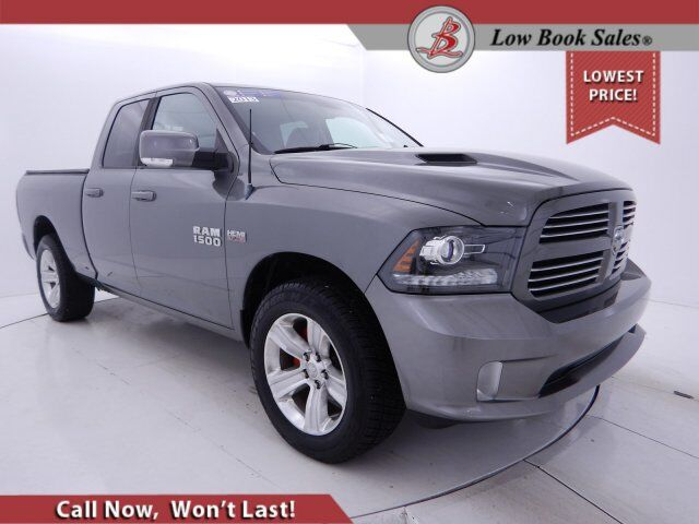 2013 Ram 1500 QUAD CAB 4X4 SPORT HEMI Salt Lake City UT