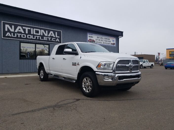 2013 Ram 3500 Laramie- ONE OWNER, CLEAN CAR PROOF,MEGA CAB Lethbridge AB