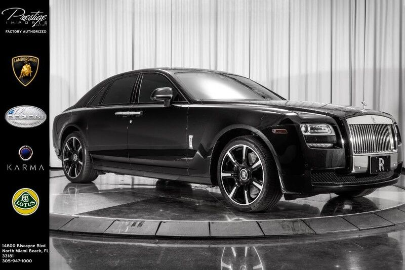 2013_Rolls-Royce_Ghost__ North Miami Beach FL