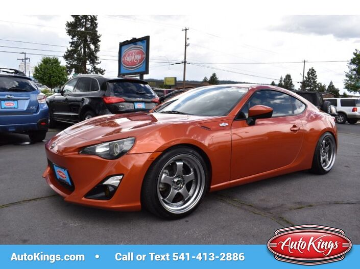 2013 Scion FR-S Manual w/Air Suspension Bend OR