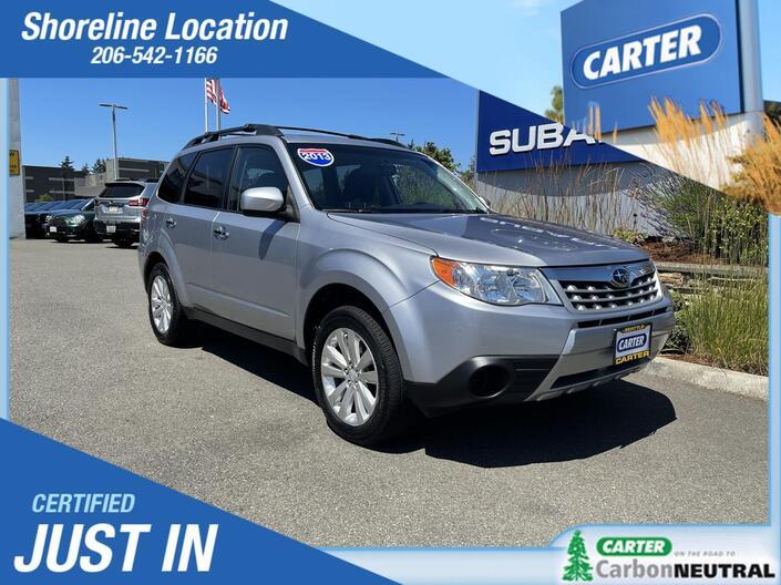 2013 Subaru Forester 2.5X Premium Seattle WA