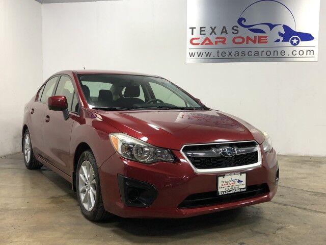 2013 Subaru Impreza 2.0i PREMIUM AWD AUTOMATIC HEATED SEATS CRUISE CONTROL ALLOY WHEELS Carrollton TX