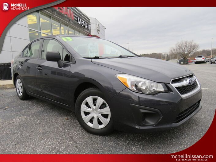 2013 Subaru Impreza Sedan BASE High Point NC
