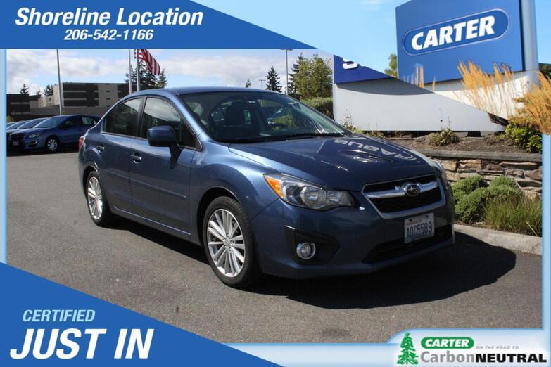 2013 Subaru Impreza Sedan Limited Seattle WA