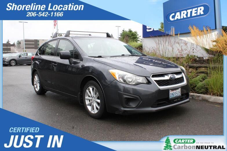 2013 Subaru Impreza Wagon 2.0i Premium Seattle WA