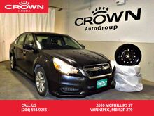 2013_Subaru_Legacy_/4dr Sdn Auto 2.5i w/Limited Pkg/NO ACCIDENTS/ 2-way REMOTE START/winter tires/all wheel drive/ sunroof/bluetooth/back up cam_ Winnipeg MB