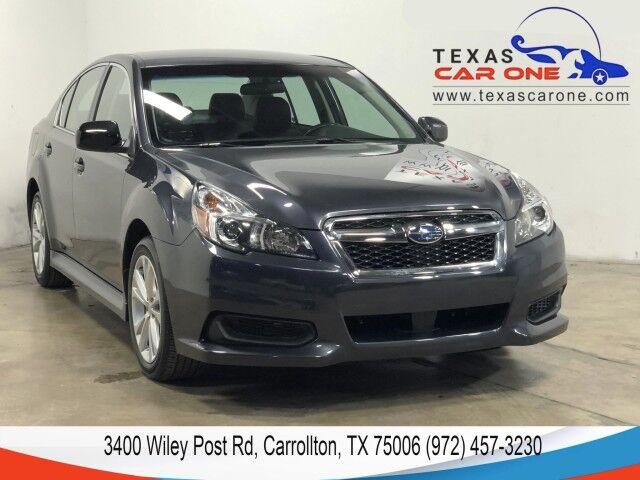 2013 Subaru Legacy 2.5i PREMIUM AWD AUTOMATIC LEATHER HEATED SEATS BLUETOOTH PADDLE Carrollton TX