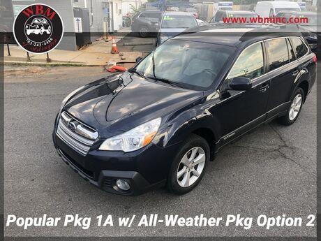 2013 Subaru Outback 2.5i Premium w/ Popular Package #1A Arlington VA
