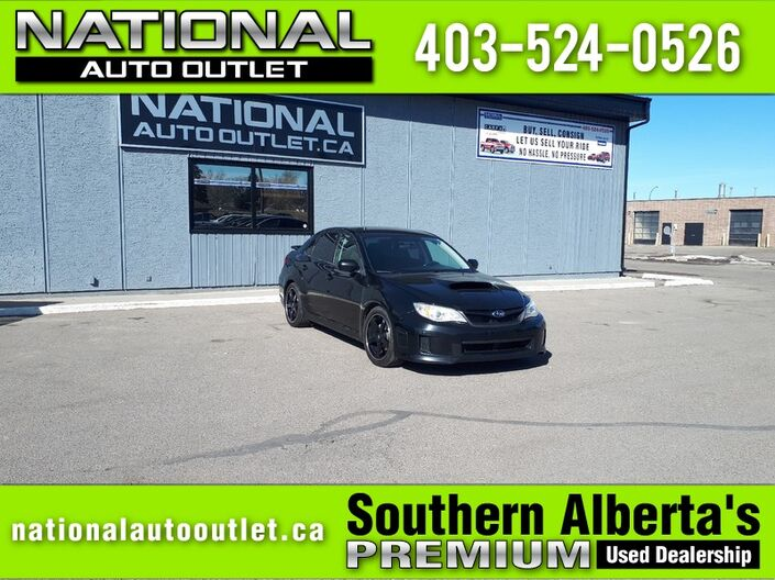 2013 Subaru WRX LIMITED - MANUAL - FAST CAR Lethbridge AB