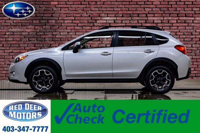 2013 Subaru XV Crosstrek AWD Limited Leather Roof Nav BCam Red Deer AB