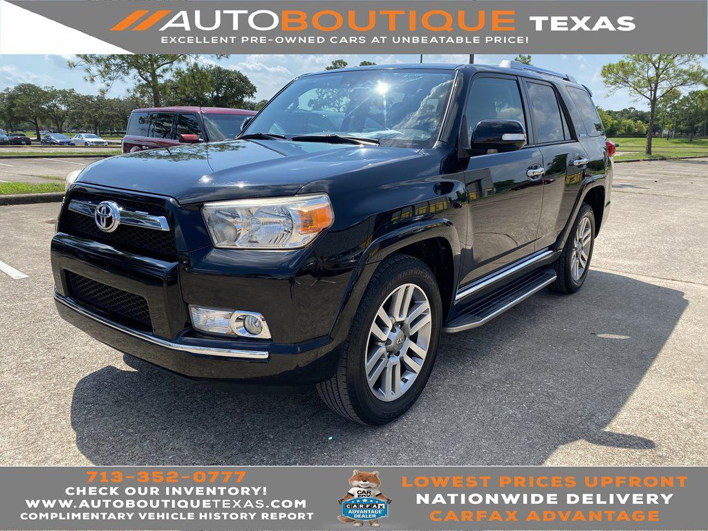 2013 TOYOTA 4RUNNER LIMITED SR5 Houston TX
