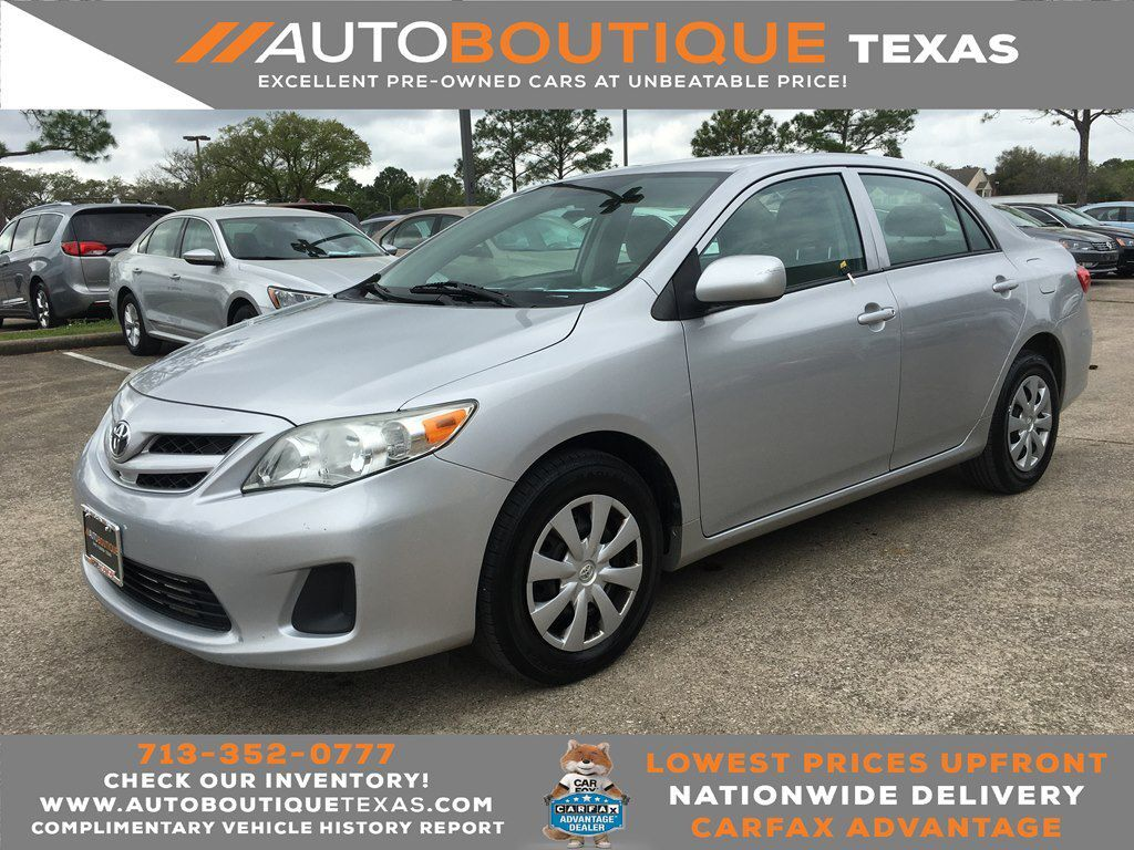 2013 TOYOTA COROLLA Houston TX