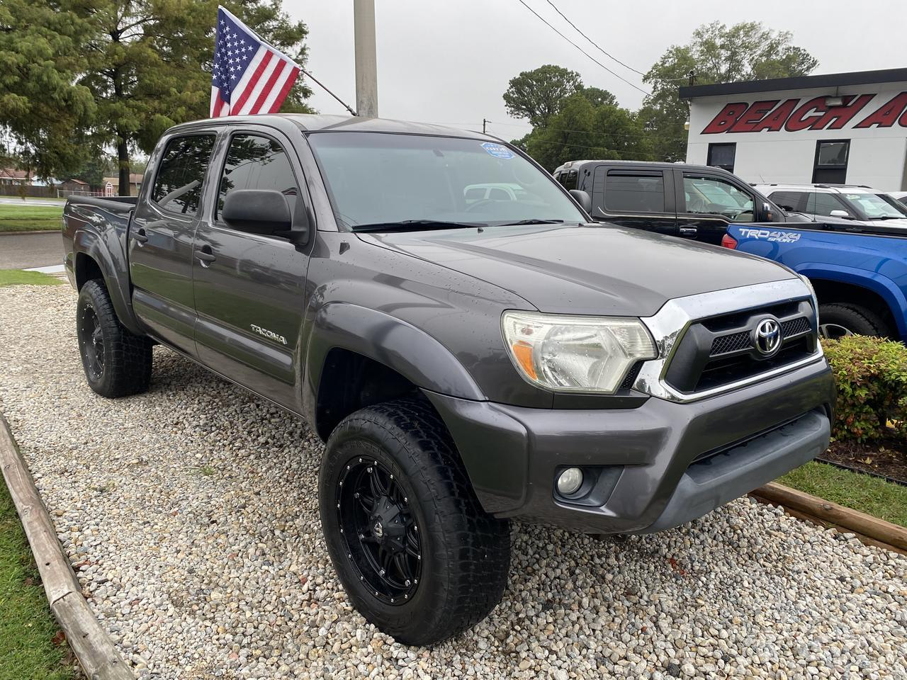 2013 TOYOTA TACOMA PRERUNNER DOUBLE CAB, WARRANTY, SR5 PKG, BACKUP CAM, BLUETOOTH, SIRIUS RADIO, AUX/USB PORT, CLEAN! Norfolk VA