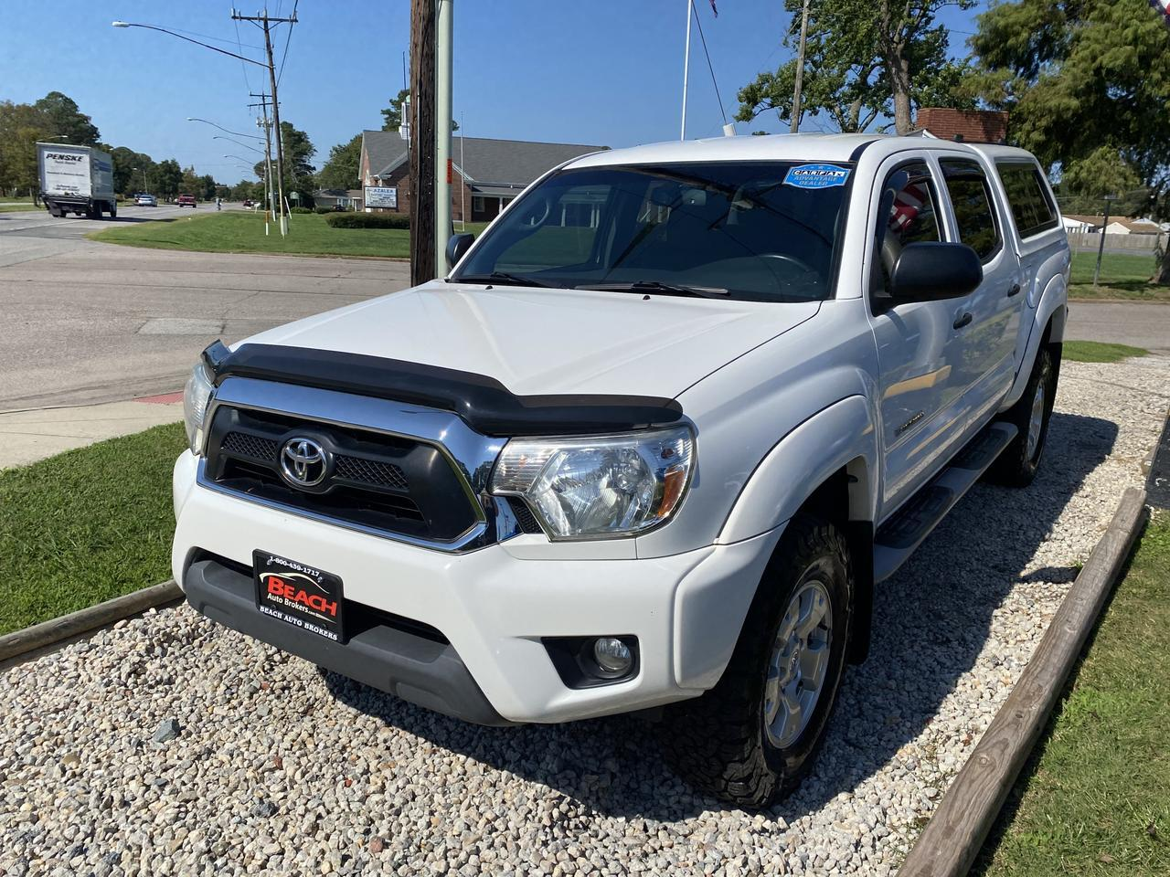 2013 TOYOTA TACOMA TRD OFF ROAD DOUBLE CAB 4X4, WARRANTY, MANUAL, BLUETOOTH, AUX/USB PORT, SIRIUS RADIO, 1 OWNER! Norfolk VA