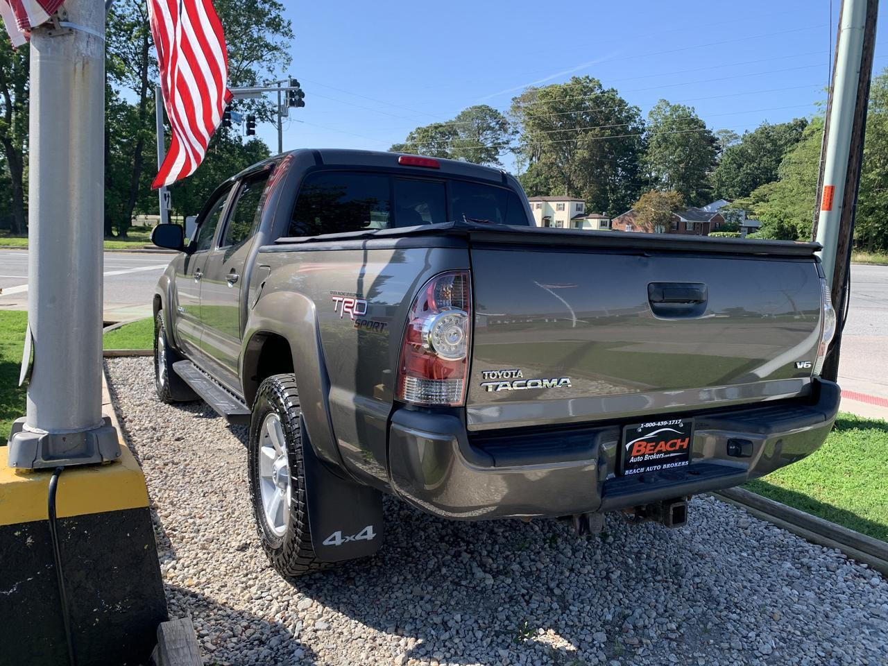 2013 TOYOTA TACOMA TRD SPORT DOUBLE CAB 4X4, WARRANTY, BACKUP CAMERA, AUX/USB PORT,  BLUETOOTH, RUNNING BOARDS! Norfolk VA