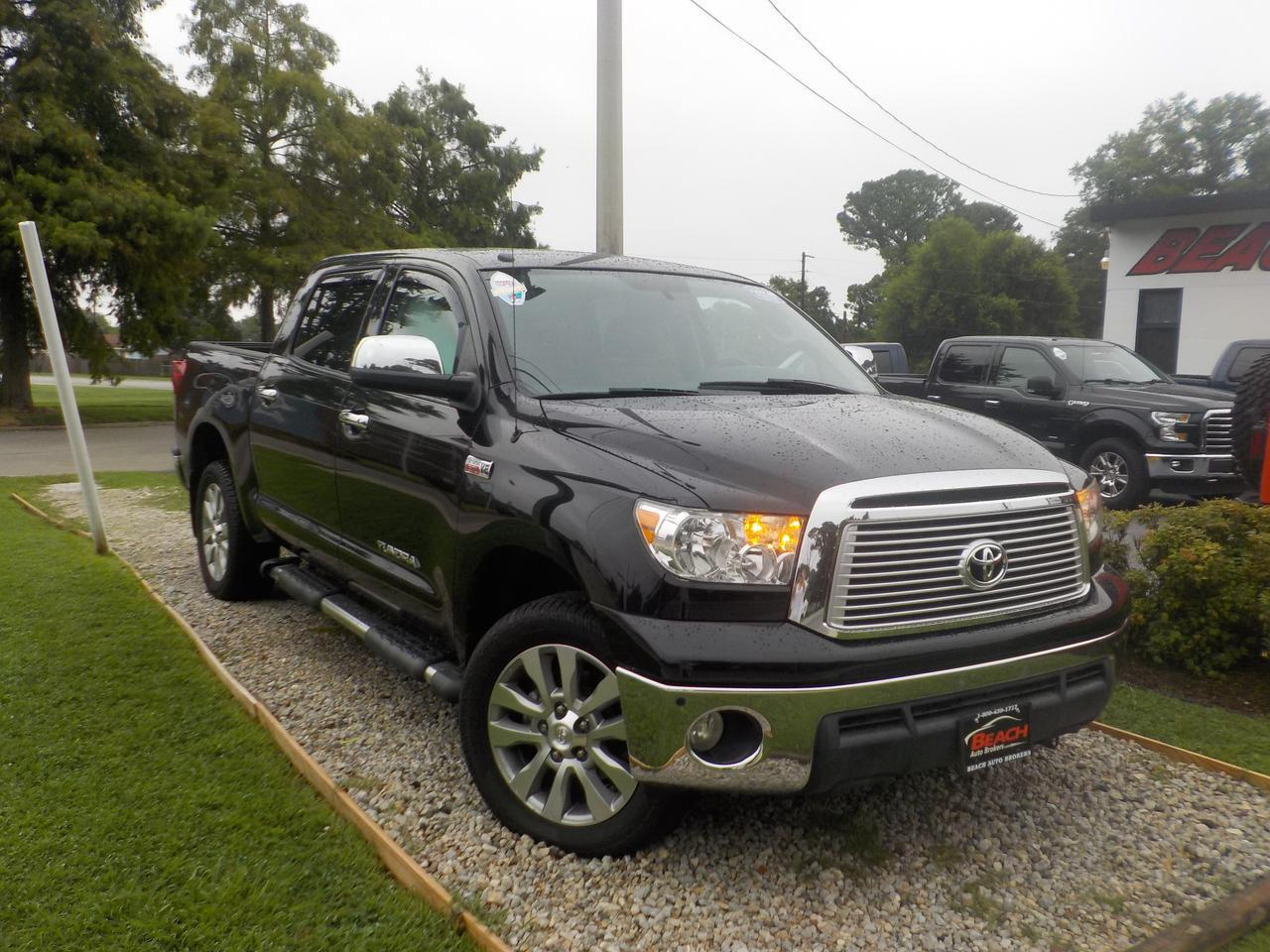 "2013 TOYOTA TUNDRA PLATINUM CREWMAX 4X4, WARRANTY, LEATHER, SUNROOF, NAV, JBL SOUND, HEATED/COOLED SEATS, 20"" RIMS!"