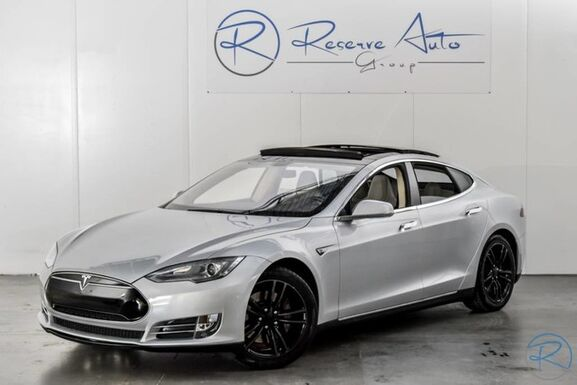 2013_Tesla_Model S_60_ The Colony TX
