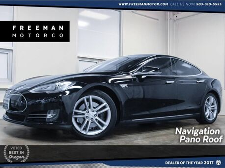 2013_Tesla_Model S_60kwh Panoramic Roof Tech Package_ Portland OR