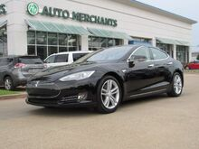 2013_Tesla_Model S_Base LEATHER, BACKUP CAMERA, HTD FRONT SEATS, BLUETOOTH CONNECTIVITY, POWER LFITGATE, WIFI HOTSPOT_ Plano TX