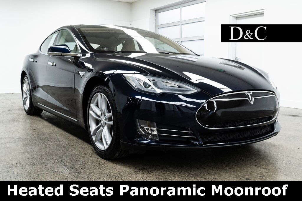 2013 Tesla Model S Heated Seats Panoramic Moonroof Portland OR