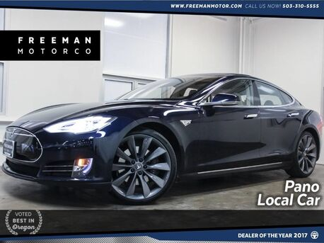 2013_Tesla_Model S_P85 Pano Roof Heated Seats Locally Owned_ Portland OR