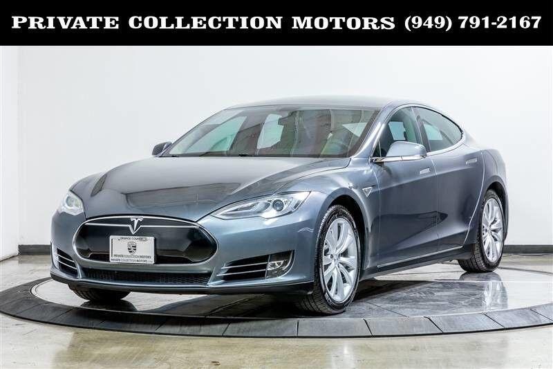 2013_Tesla_Model S P85_Performance $106,270 MSRP_ Costa Mesa CA