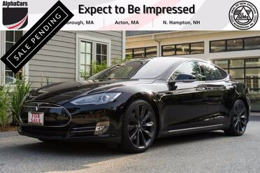 2013_Tesla_Model S_P85 Performance_ Boxborough MA
