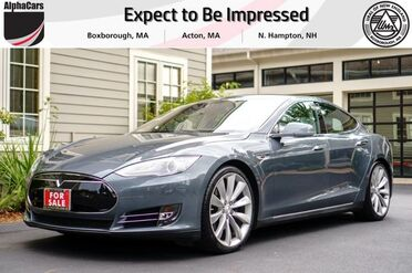 2013_Tesla_Model S_Performance P85+_ Boxborough MA