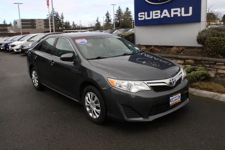 2013 Toyota Camry LE Seattle WA