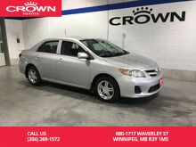 2013_Toyota_Corolla_Auto CE Moonroof Pkg / One Owner / Local / Low Kms_ Winnipeg MB