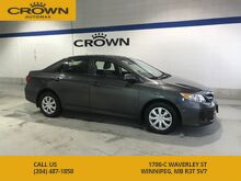 2013_Toyota_Corolla_CE **Power Windows** Heated Seats** Cruise Control**_ Winnipeg MB
