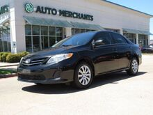 2013_Toyota_Corolla_LE 4-Speed AT CLOTH SEATS, BLUETOOTH CONNECTIVITY, AUTO WINDOWS_ Plano TX