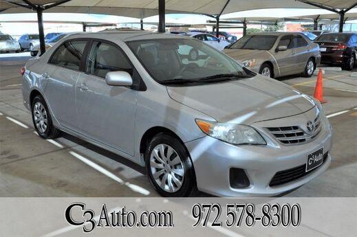 2013 Toyota Corolla LE Plano TX
