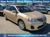 2013 Toyota Corolla LE South Burlington VT