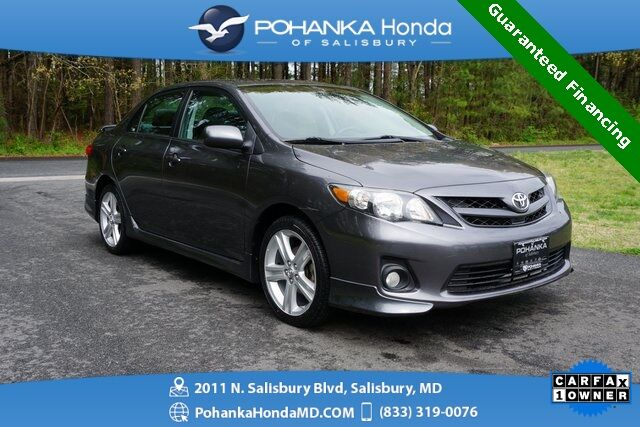 2013 Toyota Corolla S ** W / Sunroof Guaranteed Financing ** Salisbury MD
